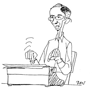 DEAN caricature